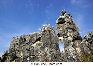 Shilin Stone Forest, Kunming, China - Shilin Stone Forest in...