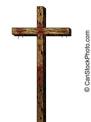 The Cross - Illustration of the cross of Christ.