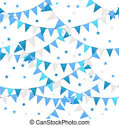 Party Background Seamless Pattern Vector Illustration