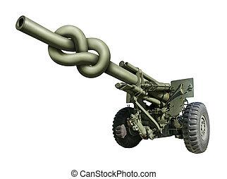 artillería, arma de fuego