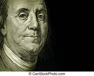 Benjamin Franklin - Photo-Illustration using Benjamin...