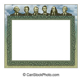 Financial Board of Advisors Frame - Photo-Illustration using...