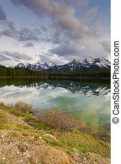 Herbert Lake in Banff