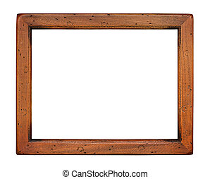 Flat plain wooden Picture Frame - Flat plain wooden picture...