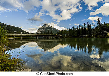 Vermillion Lake in Banff