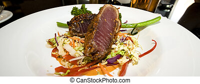 Seared Tuna Entree