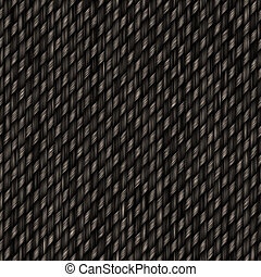 Seamless Carbon Fiber Pattern - Highly detailed illustration...
