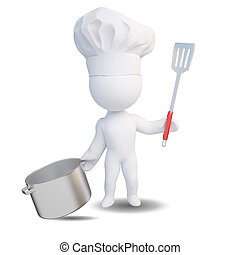 Abstract 3d cook