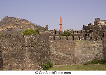 Entrance to Indian Fort
