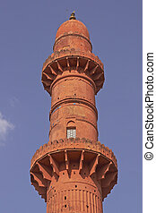 Muslim Victory Tower - Islamic victory tower (Chand Minar)...