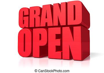 Grand open - This is grandopen image.