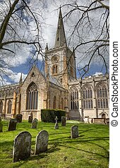 Church at Stratford upon Avon - Stratford upon Avon church...