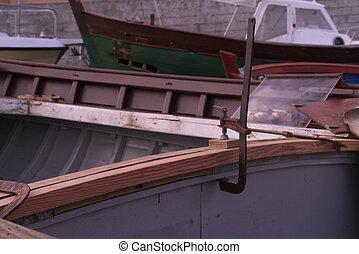 réparation, bateaux