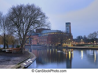 Shakespeare theatre - Royal Shakespeare Company Theatre,...