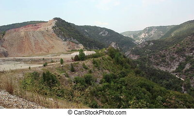 Mountains, stone pit - Mountains, nature, stone pit