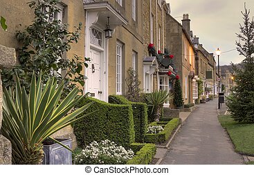 Broadway, Worcestershire - The pretty High Street at...