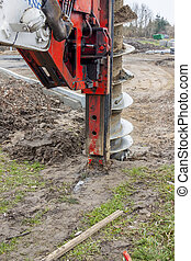 Drilling machine - Big drilling machine