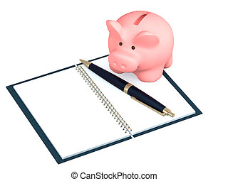 Calculation - Conceptual image - calculation of the finance