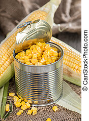 Preserved Sweetcorn - Fresh portion of preserved Sweetcorn...