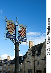 Chipping Campden town sign - Chipping Campden's town sign,...