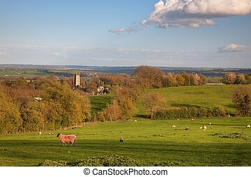 Chipping Campden - Looking over rural Gloucestershire...