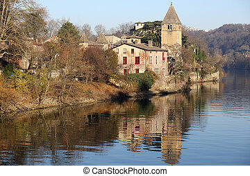 The Ile Barbe - Details of the ile Barbe who is an island in...
