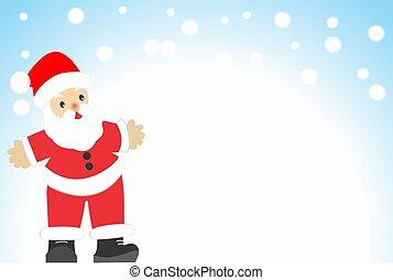 Feliz Navidad - Papa Noel les desea feliz navidad