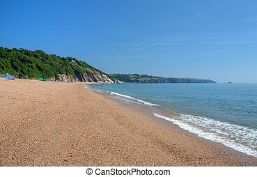 Slapton Sands, Devon - The popular holiday destination of...