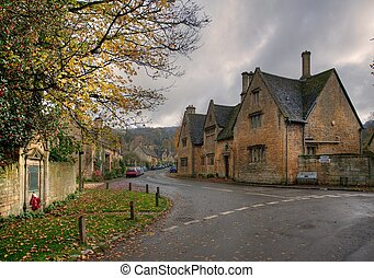 Stanton village, Cotswolds - The popular tourist destination...