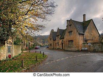 Stanton village, Cotswolds - The popular tourist destination...