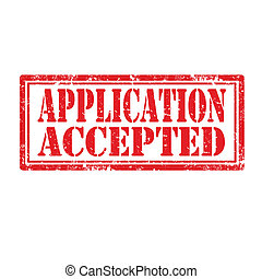 Application Accepted-stamp