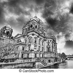 Sunset at Berlin Cathedral (Berliner Dom) Berlin, Germany