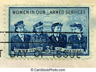 Military Women of 1952 - 1952 U.S. Postage Stamp...