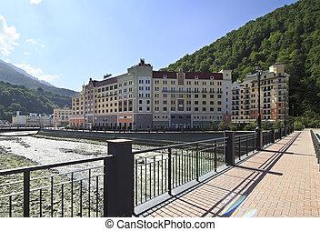 Rosa Khutor Alpine Resort in Krasnaya Polyana