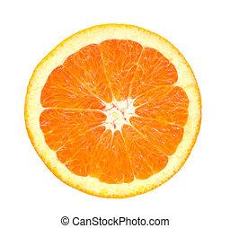オレンジ, 切口, 顔