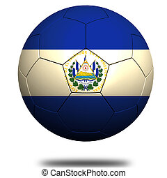 El Salvador soccer image with hi-res rendered artwork that...