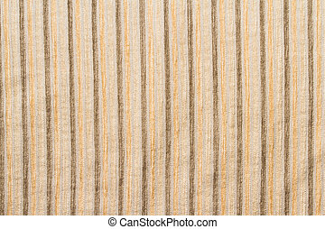 cloes up wool brown fabric stripe texture for background