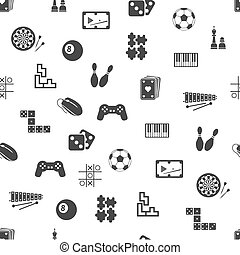 game seamless pattern