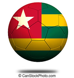 Togo soccer image with hi-res rendered artwork that could be...