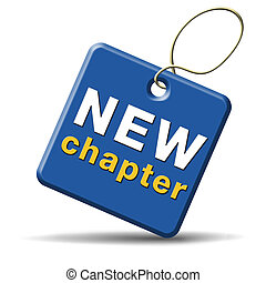 new chapter fresh start over or begin again and have an...