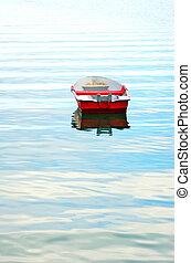 Old fishing boat in Algarve,Portugal