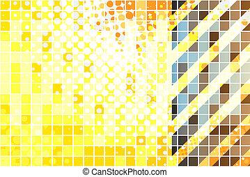 High Tech Hazard Stripes - Hazard stripes layout that works...