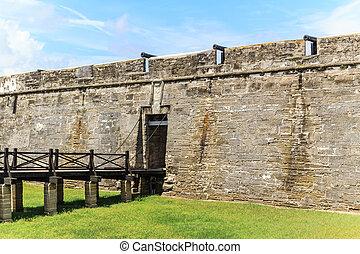 St Augustine Fort, Florida - St Augustine Fort, Castillo de...