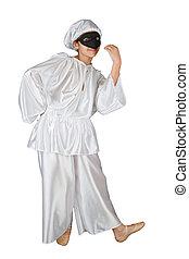 Pulcinella, traditonal neapolitan mask - Pulcinella,...