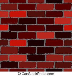Brickwall Seamless texture. EPS10 vector.