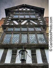 Tudor house, Shropshire - Tudor box frame house, Ludlow,...