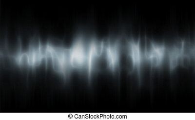 Eerie background - Editable vector background of a ghostly...