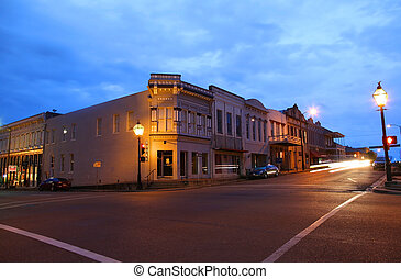 Downtown Natchez - NATCHEZ- MARCH 11: Downtown Natchez in...
