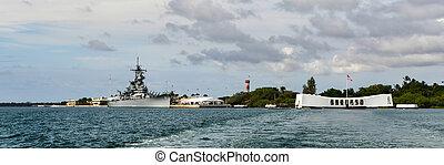 The Battleship USS Missouri and USS Arizona Memorial - The...