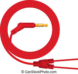 Cable for headphones